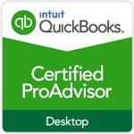 QuickBooks Desktop Certified ProAdvisor logo